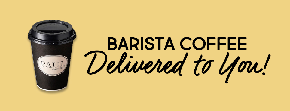 BARISTA COFFEE DELIVERED TO YOU!