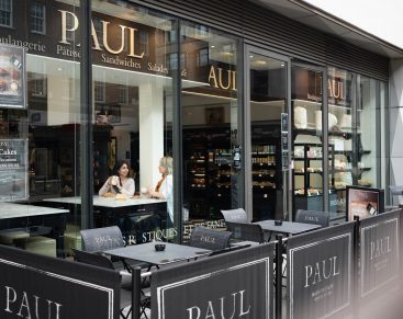 Where can you dine in with PAUL today?