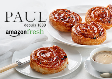 PAUL is now on Amazon Fresh!