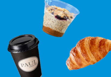 Breakfast Deal at PAUL Bakery