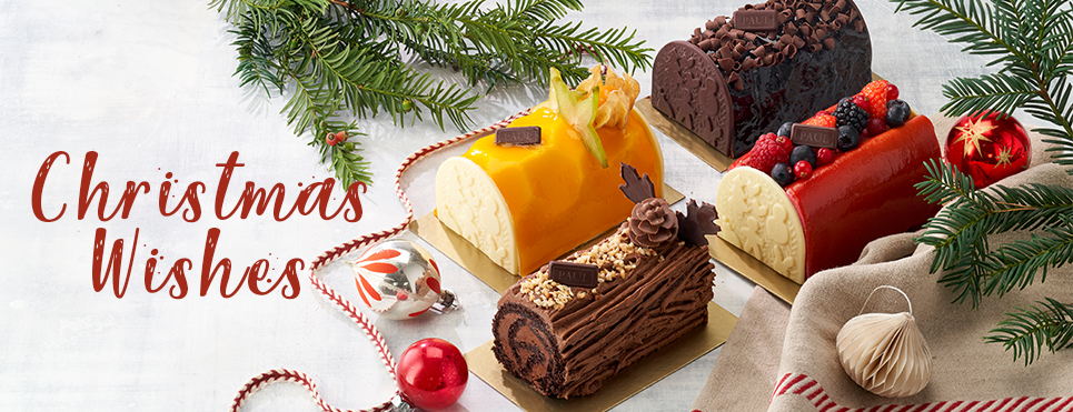 Christmas Cakes & Yule Logs - Pre-Order Now!