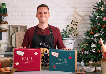 Christmas Home Baking Kits - delivery nationwide