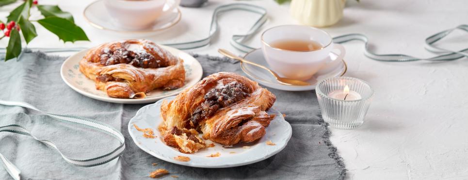 mince pie croissant